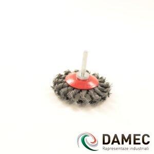 Spazzole in acciaio SGT D75 f0,6